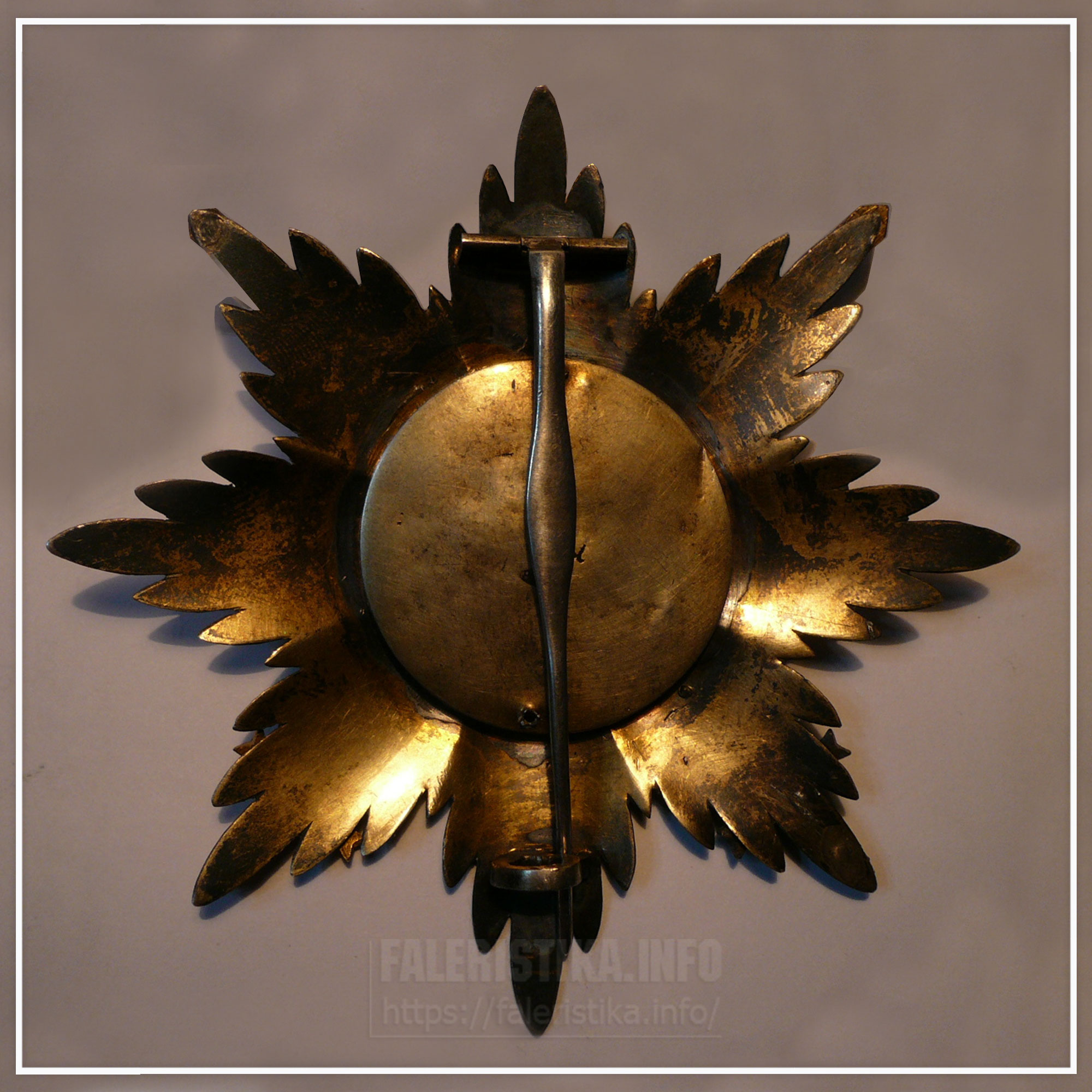 Звезда ордена Святого Станислава с мечами