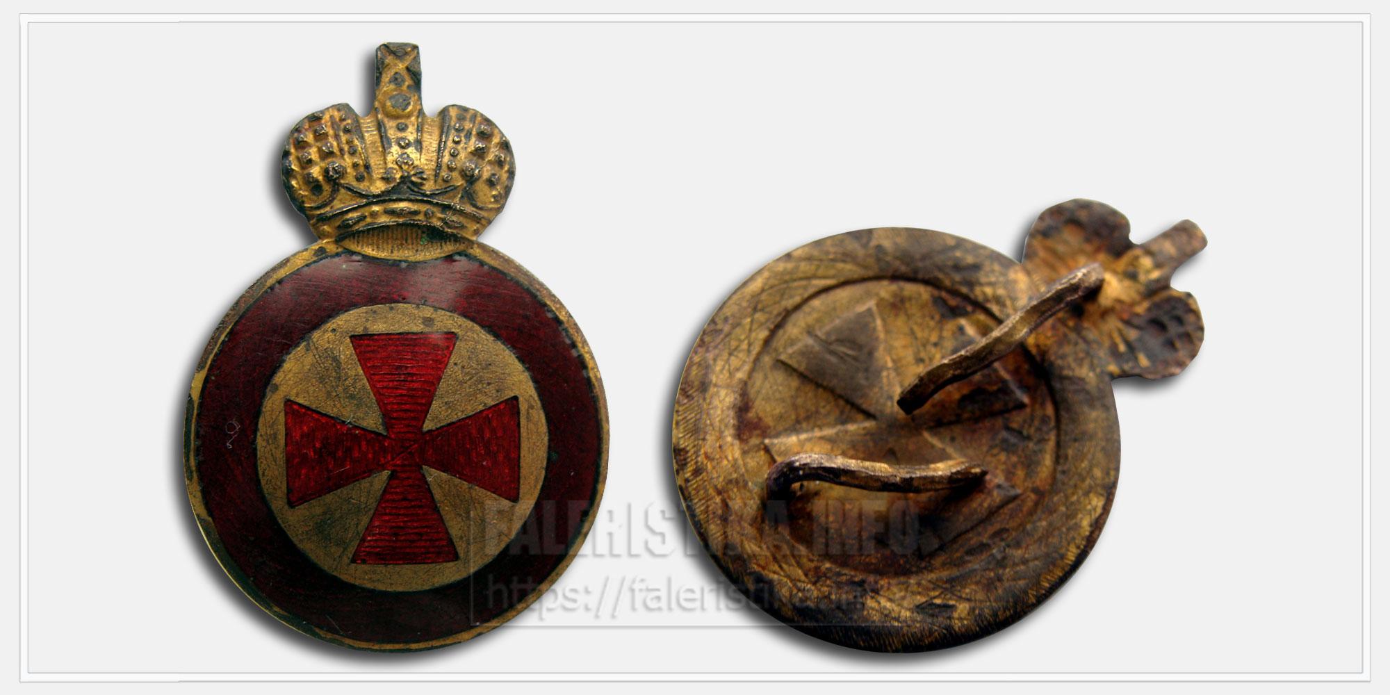 Знак ордена Святой Анны 4-й степени