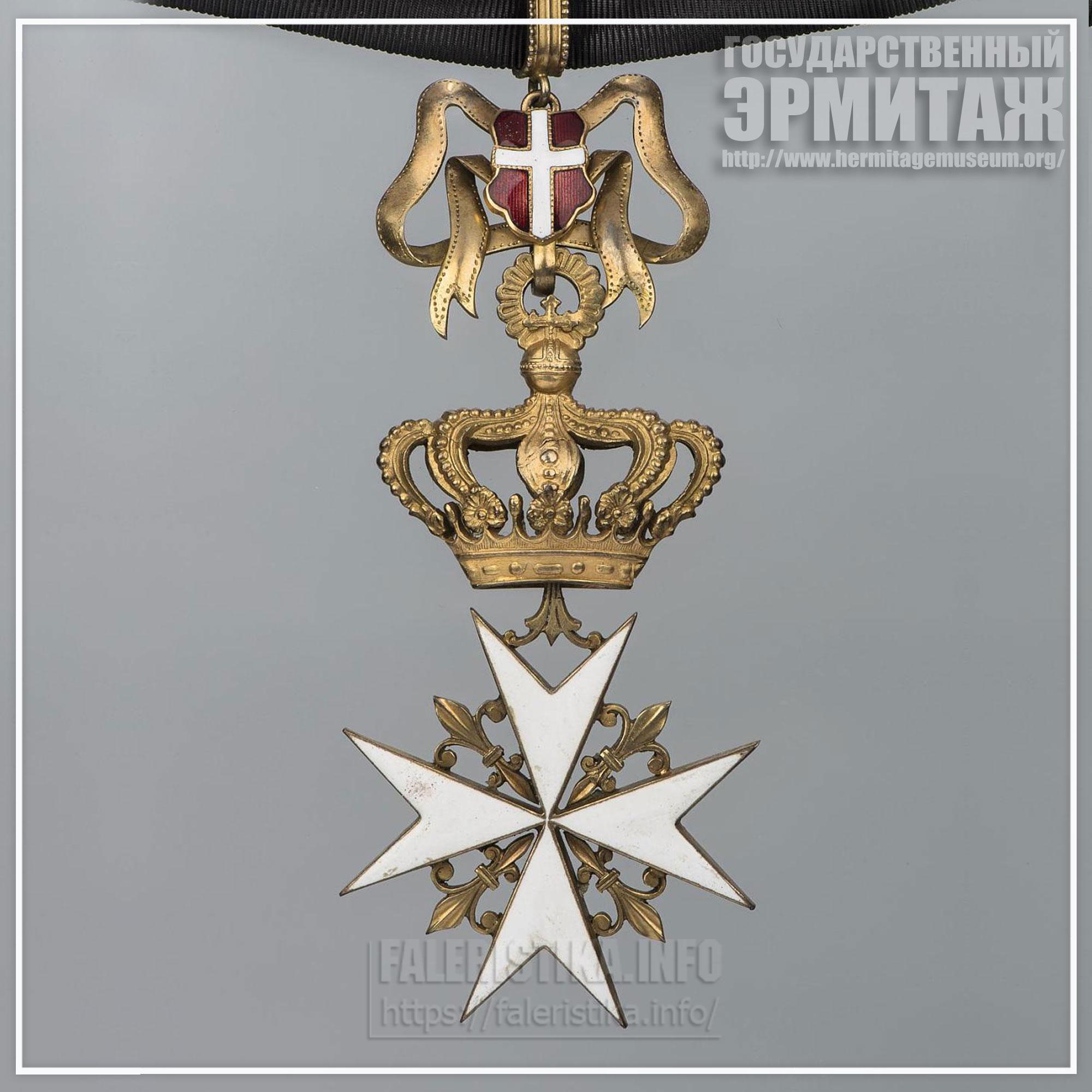 Знак ордена Св. Иоанна Иерусалимского Мальта, Начало XX в