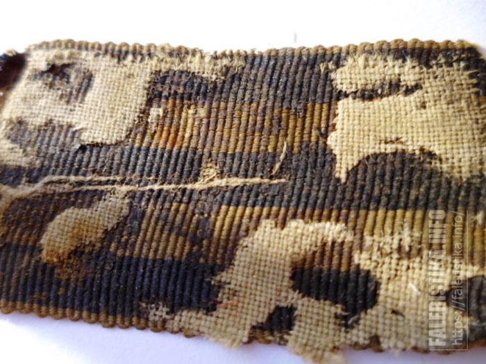 Старая Георгиевская лента с колодки